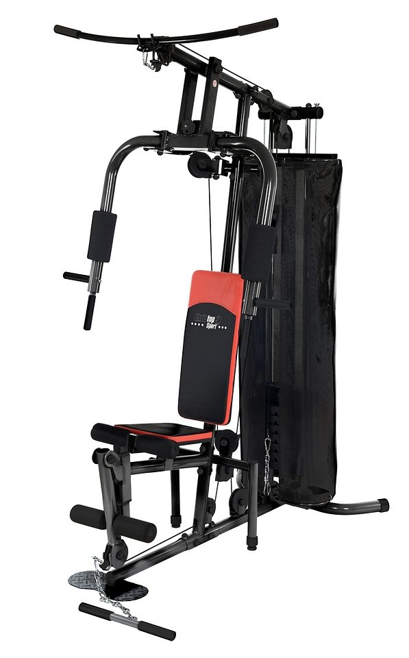 Fitness-Station, inkl. Trainingshandschuhe, Christopeit Sport®, »SP 10 de Luxe«
