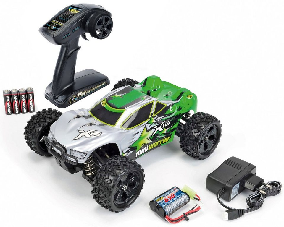 Carson RC-Komplett-Set, »X-16 Truggy Mini Warrior 2,4GHz RTR«