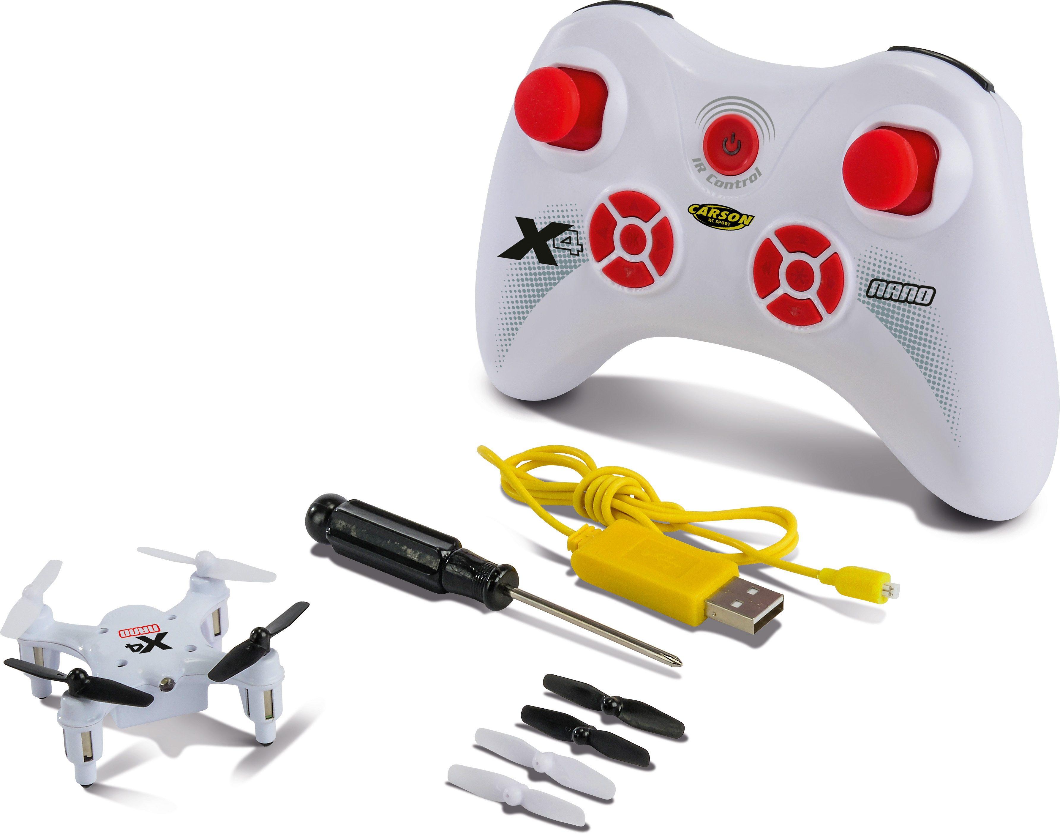 Carson RC-Komplett-Set, »X4 Quadcopter Nano RTF«