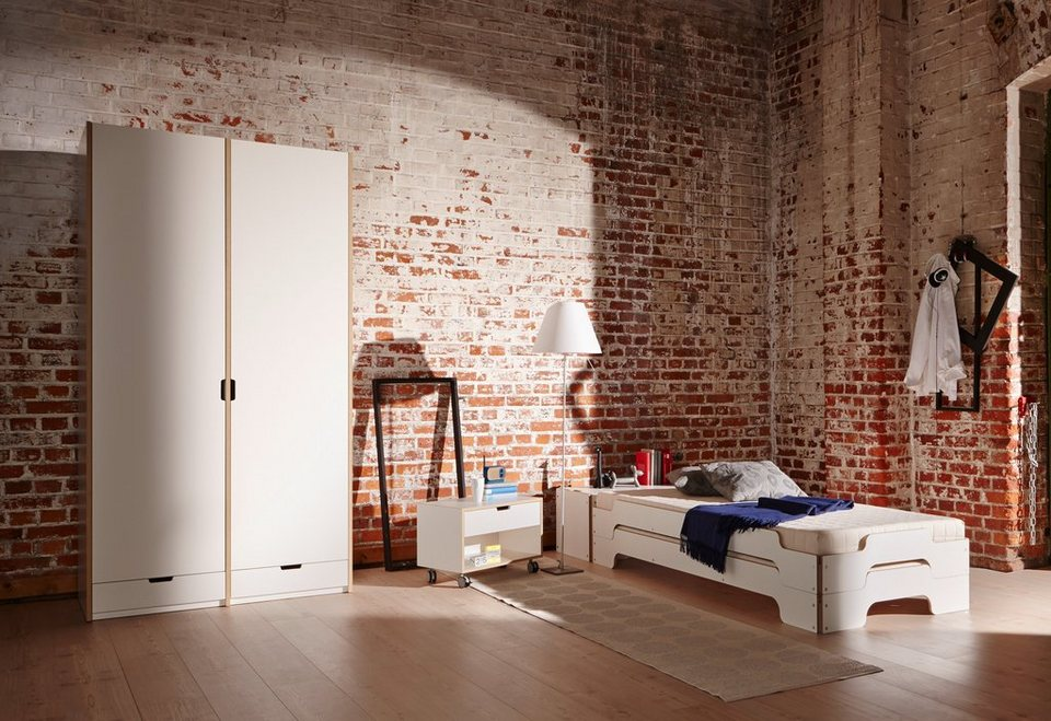 m ller m belwerkst tten grundelement modular kleiderschrank beliebig erweiterbar online. Black Bedroom Furniture Sets. Home Design Ideas