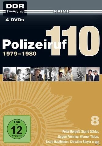 DVD »Polizeiruf 110 – Box 8: 1978-1980«