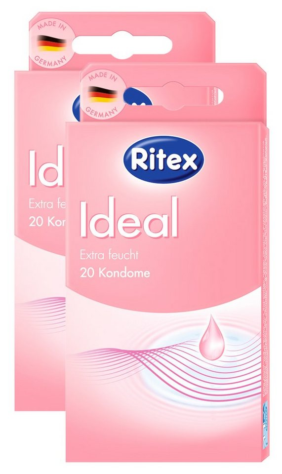Ritex Kondome »Ideal«, 2x20er/3x20er Packung