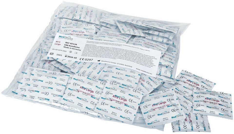 MedDevice extra große Kondome »Xtra Large«, 100er Packung