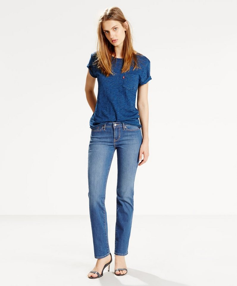 Levi's® Jeans »712 Slim« in Constellation