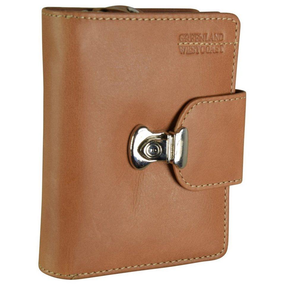 GREENLAND Westcoast Geldbörse Leder 10 cm in light brown