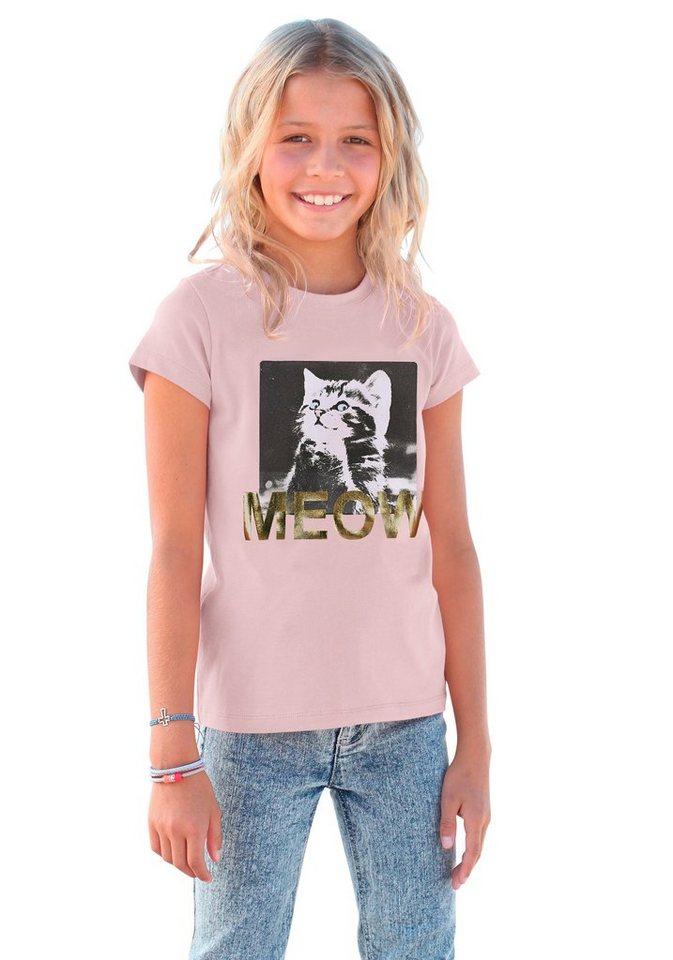Arizona T-Shirt mit Fotodruck in rosa