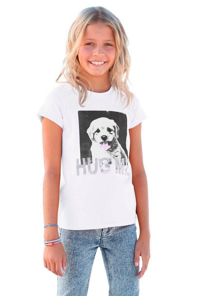 Arizona T-Shirt mit Fotodruck in weiß