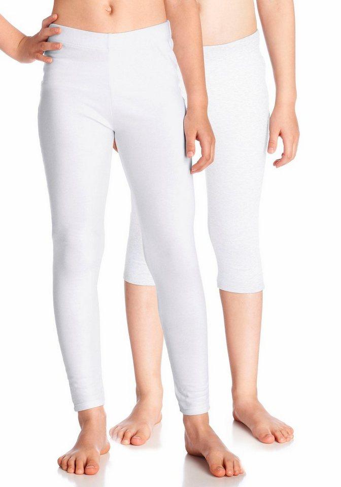 KIDSWORLD Leggings (Packung, 2 tlg.) in weiß