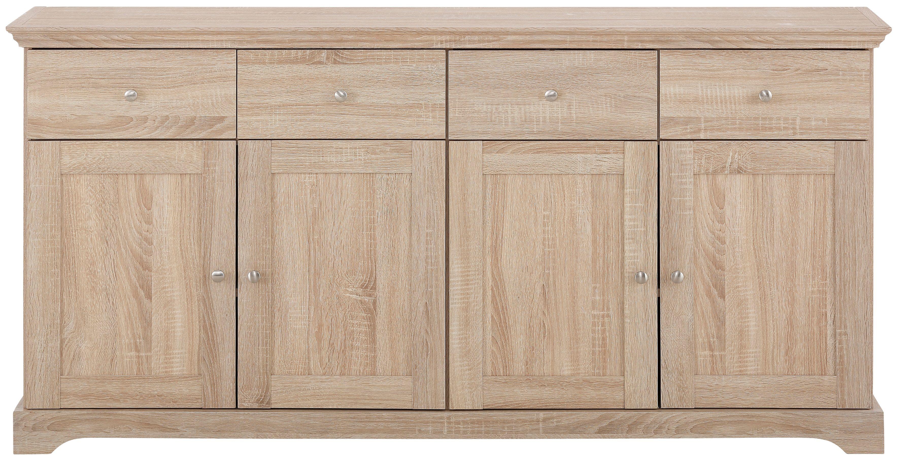 Home affaire Sideboard »Anna«, Breite 161 cm (4-trg.)