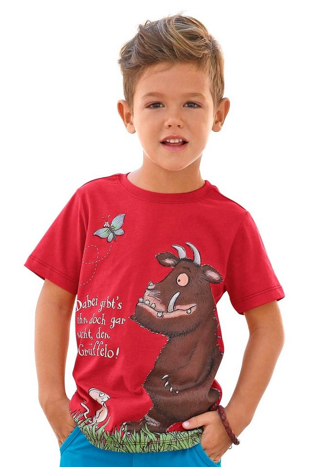 """DER GRÜFFELO T-Shirt """"Der Grüffelo! in rot"""