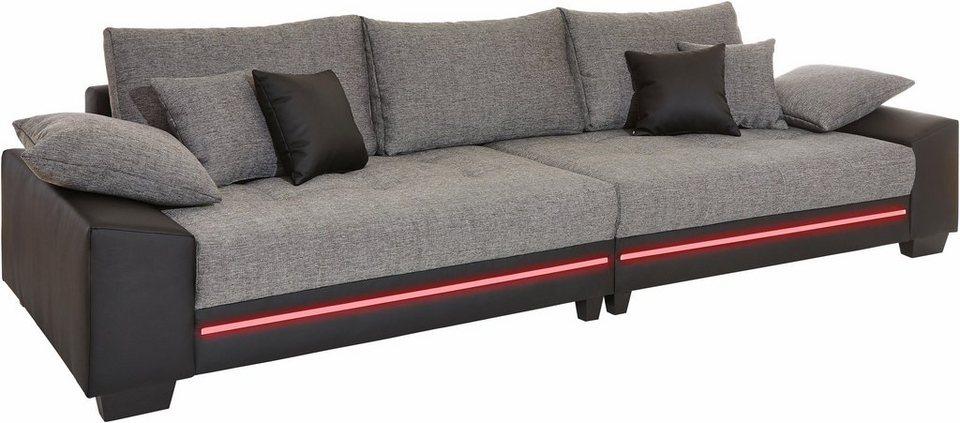 Big Sofa Mit Beleuchtung Wahlweise Mit Bluetooth Soundsystem