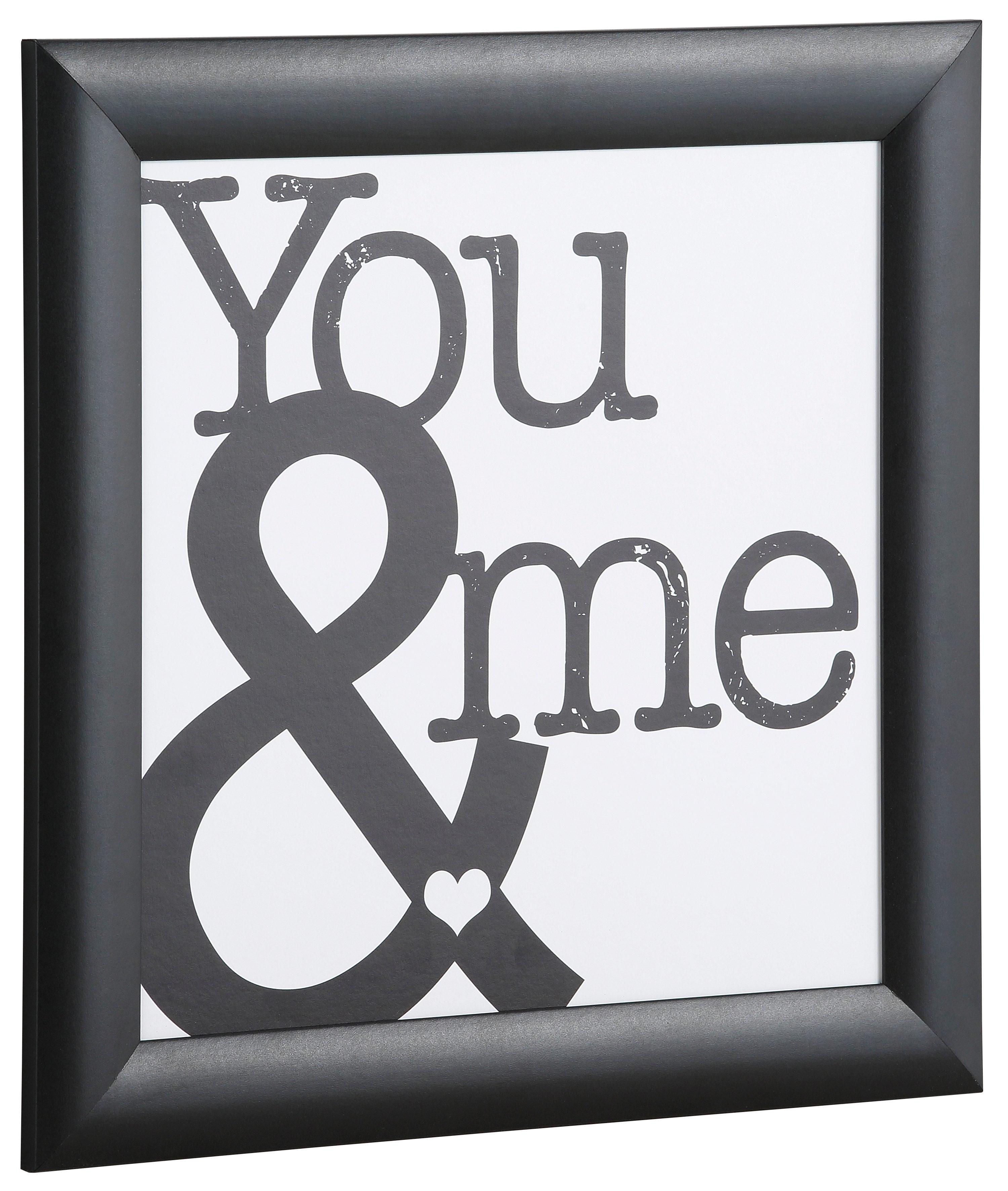 Home affaire, Bild Kunstdruck, »You & me«, 37,2/37,2 cm