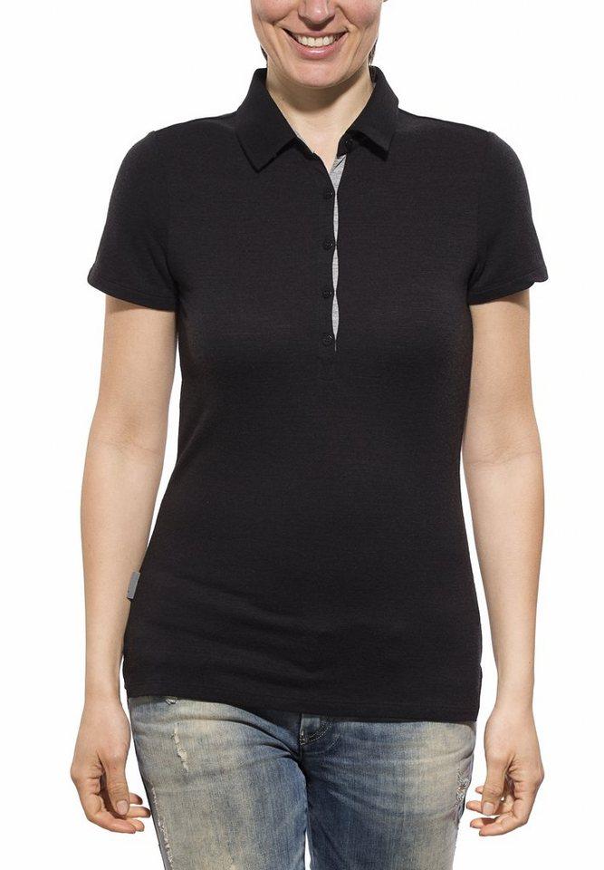 Icebreaker T-Shirt »Tech Lite SS Polo Women« in schwarz