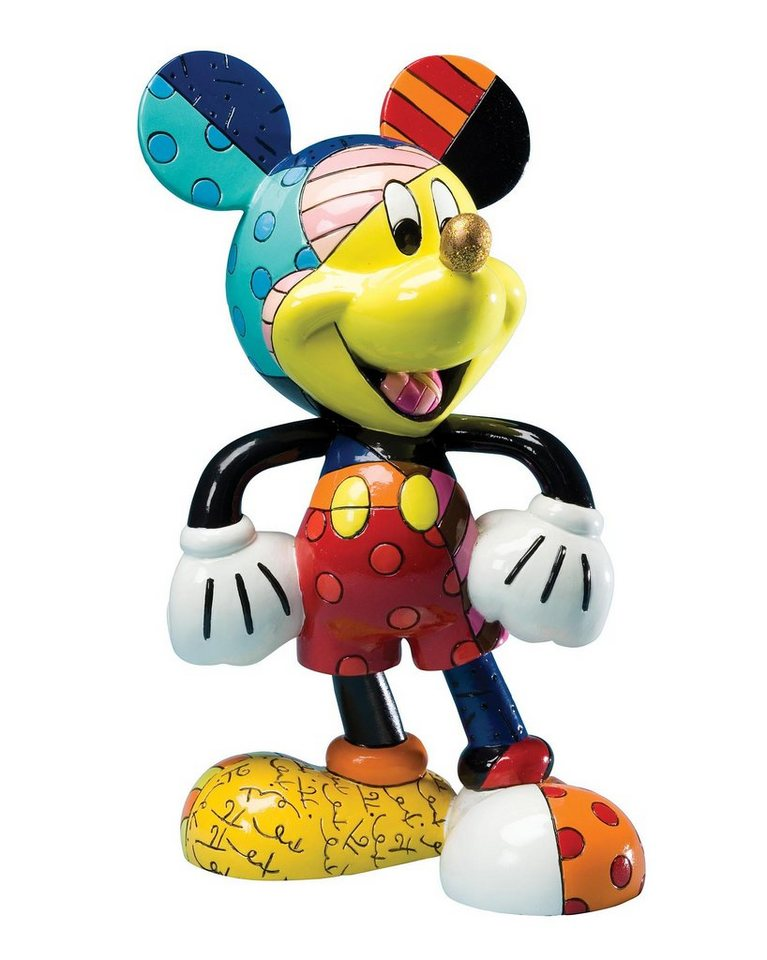 disney by britto figur popart mickey mouse otto. Black Bedroom Furniture Sets. Home Design Ideas