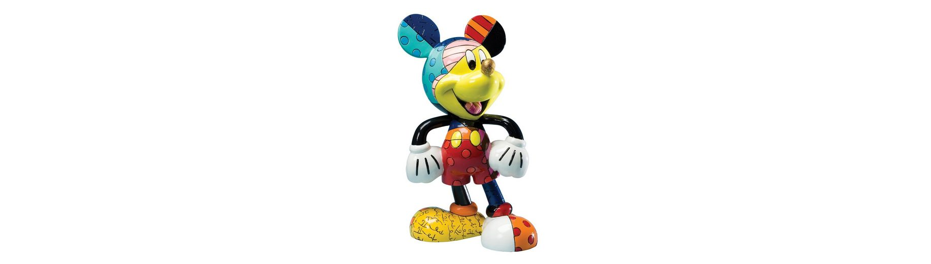 Disney by Britto Figur PopArt, »Mickey Mouse«