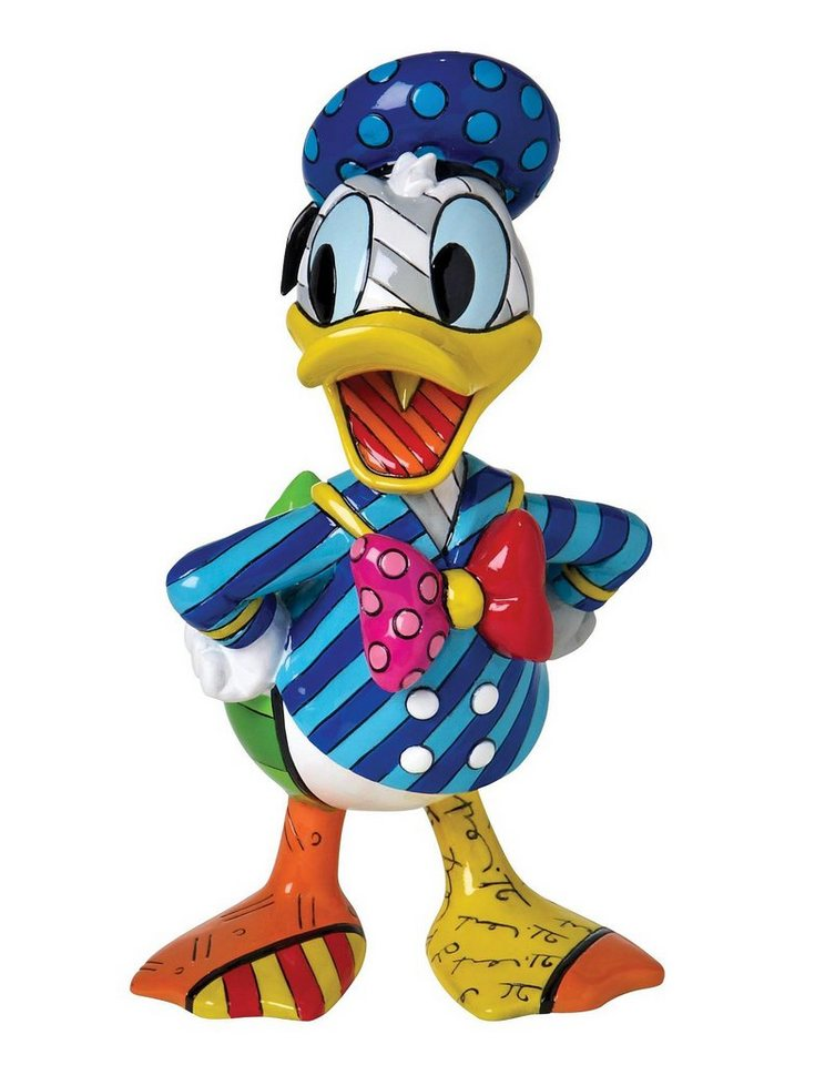 Disney by Britto Figur PopArt, »Donald Duck« in bunt