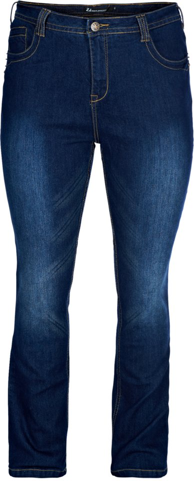Zizzi Jeans in Dark blue