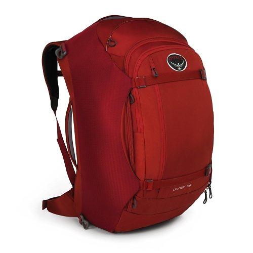 Osprey Rucksäcke / Taschen »Porter 65« in rost rot
