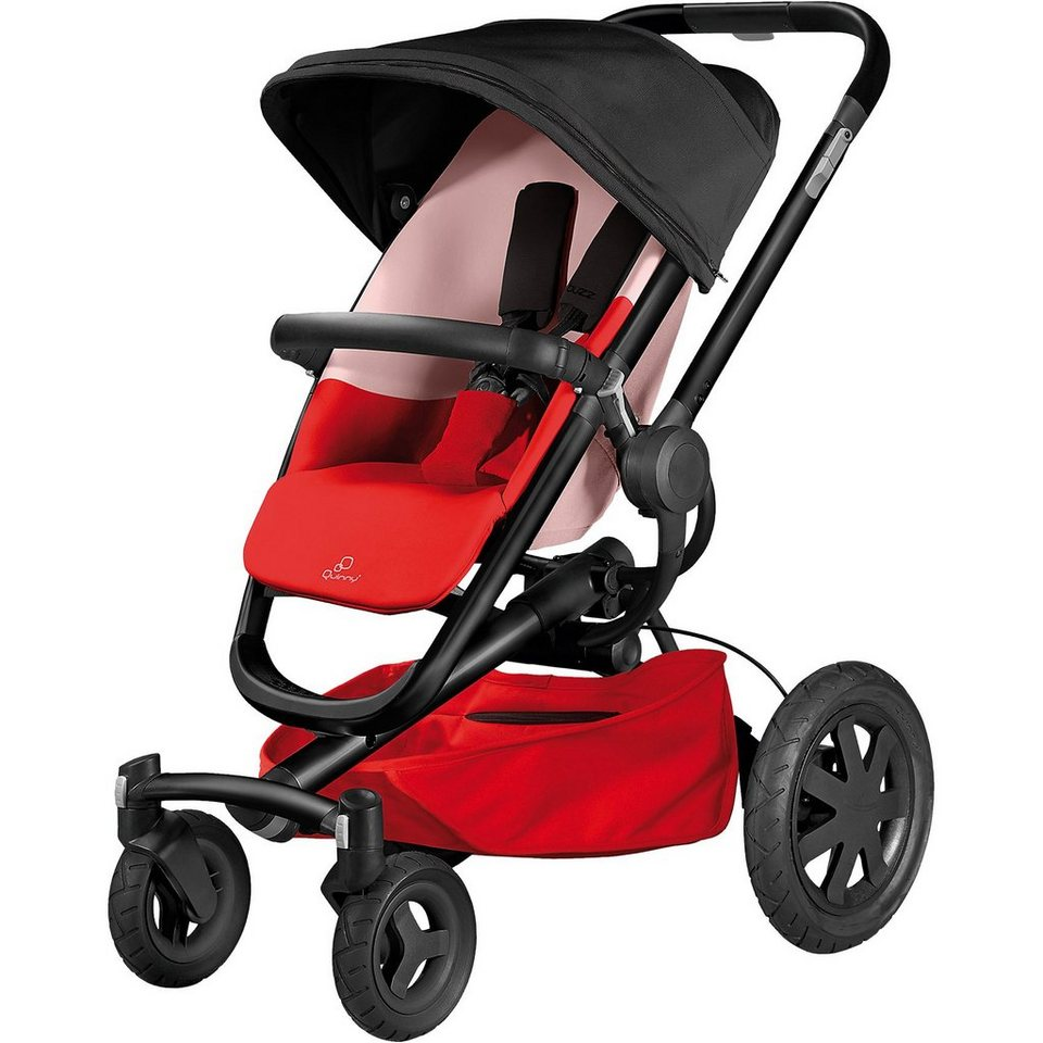 Quinny Sportwagen Buzz Xtra 4, Special Collection, reworked red, 20 in rot
