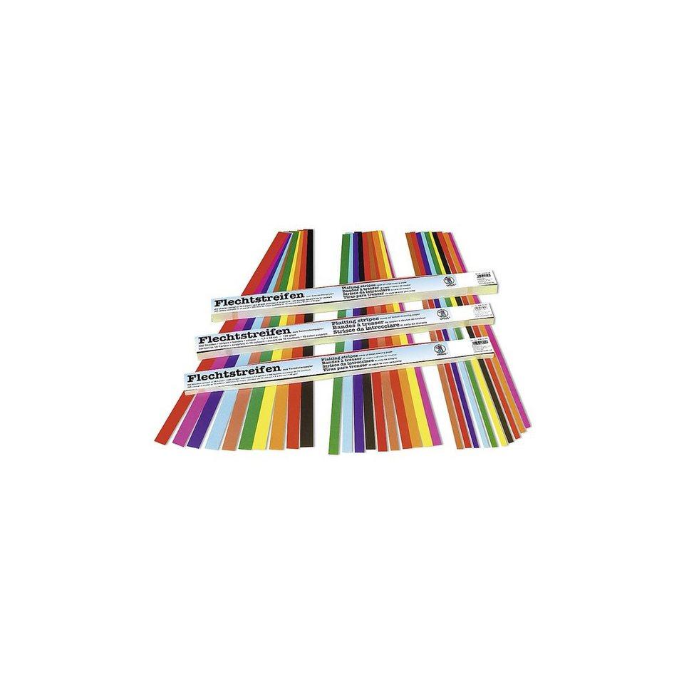 URSUS Flechtstreifen, 200 Stück in 10 Farben