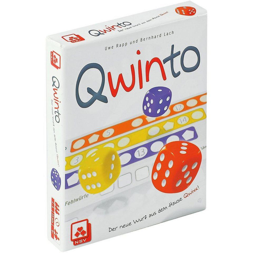 Nürnberger Spielkarten Würfelspiel QWINTO