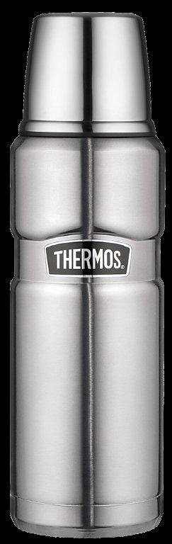Alfi Thermos Isolierflasche, »Stainless King« in Edelstahl mattiert
