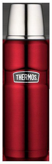 Alfi Thermos Isolierflasche, »Stainless King« in rot