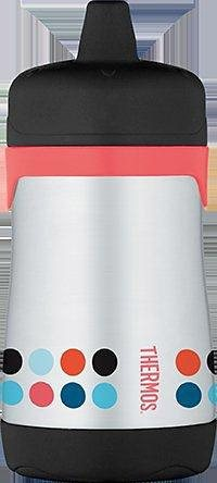 Alfi Thermos Isoliertrinkflasche, »Junior Sippy cup« in rot