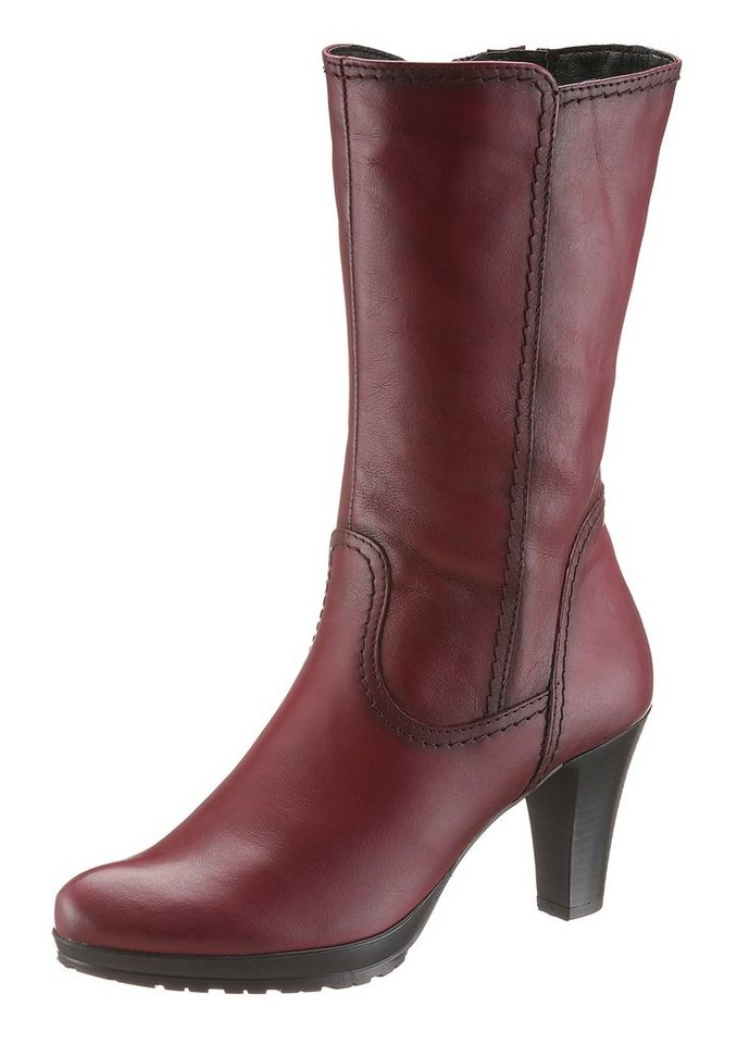 Tamaris Kurzstiefel in bordeaux used