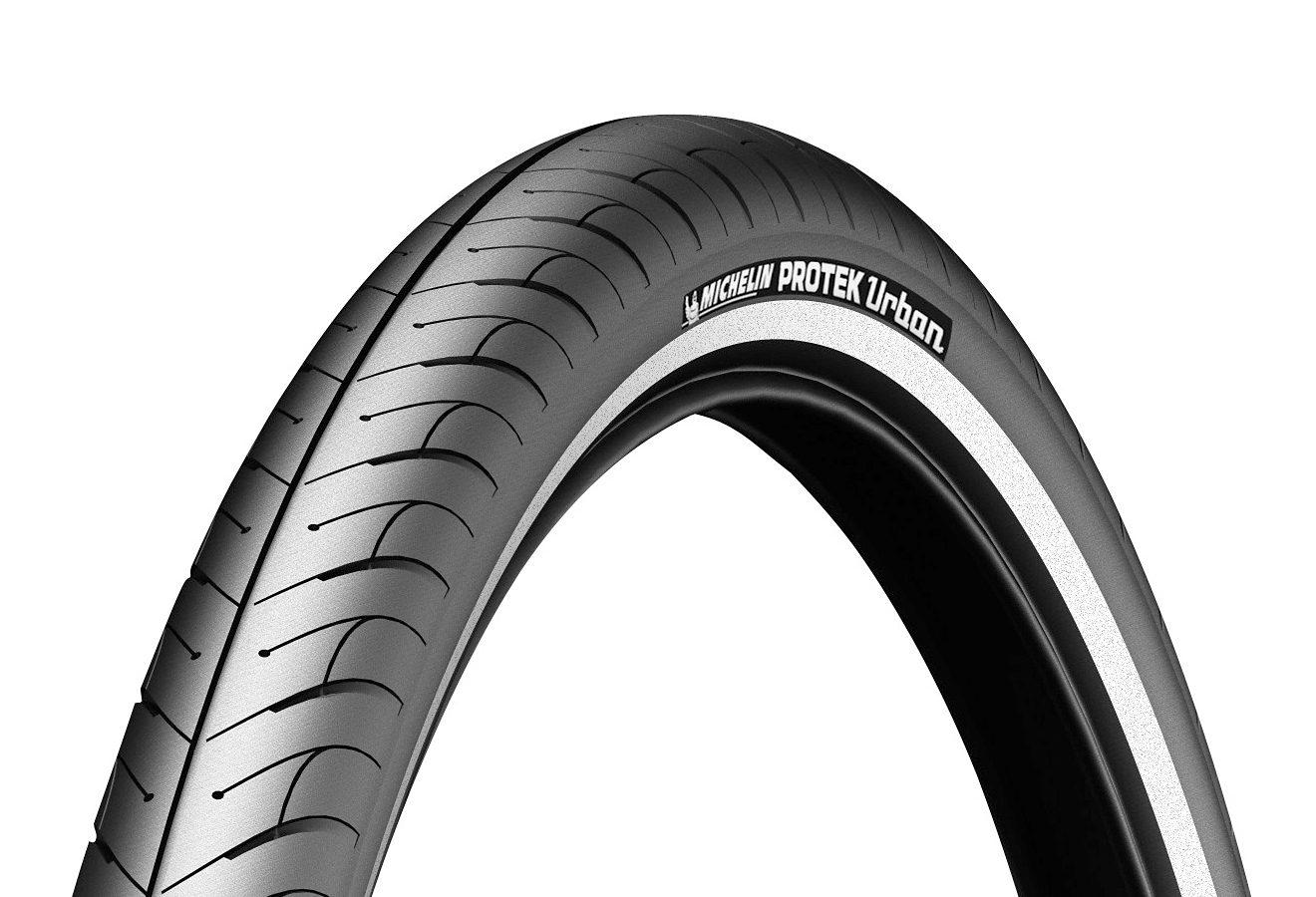 Michelin Fahrradreifen »Protek Urban Fahrradreifen 26 x 1.85 Reflex«