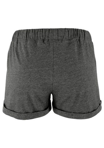 Buffalo Shorty mit sportiver Shorts & und T-Shirt mit Print