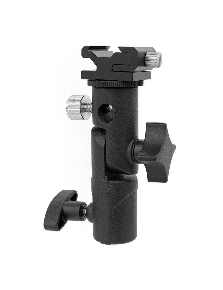 Bresser Fotostudio »JM-28 Blitzhalter mit Stativ-/ Schirmanschluss«