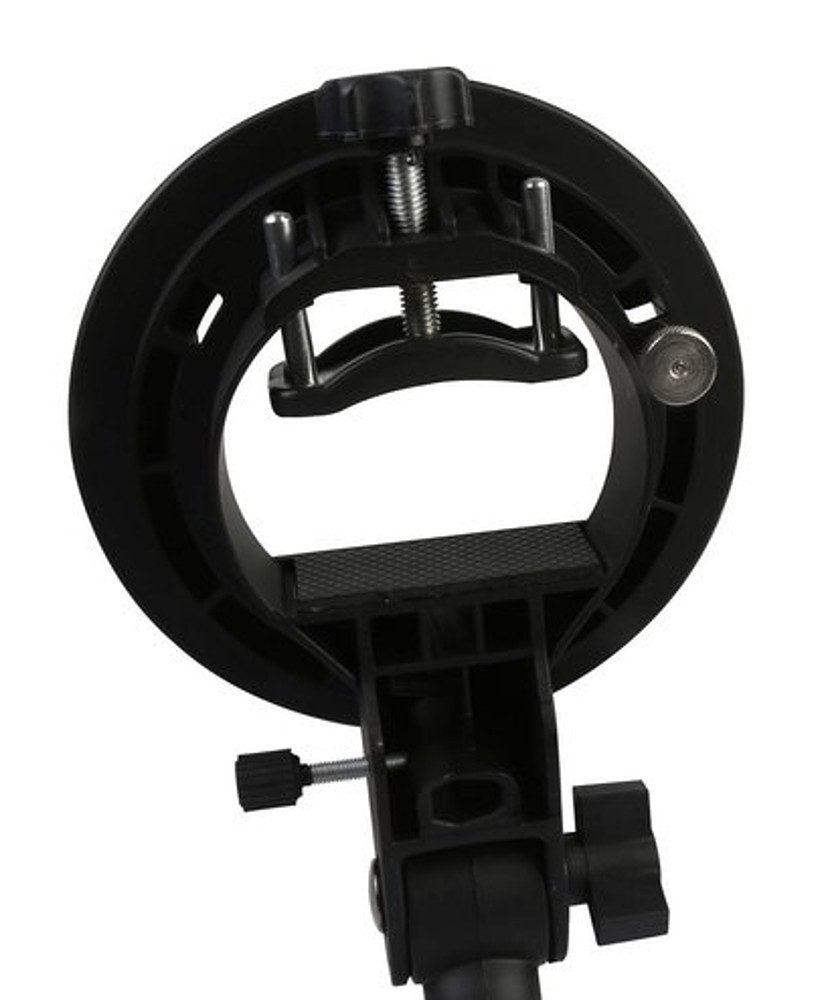 BRESSER Fotostudio »JM-86 Kamerablitzhalter mit S-Bajonett für Zubehör«