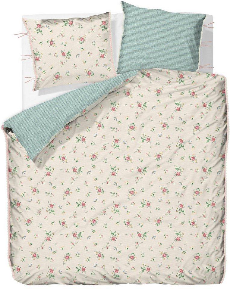 wendebettw sche pip studio granny pip mit stickerei optik online kaufen otto. Black Bedroom Furniture Sets. Home Design Ideas