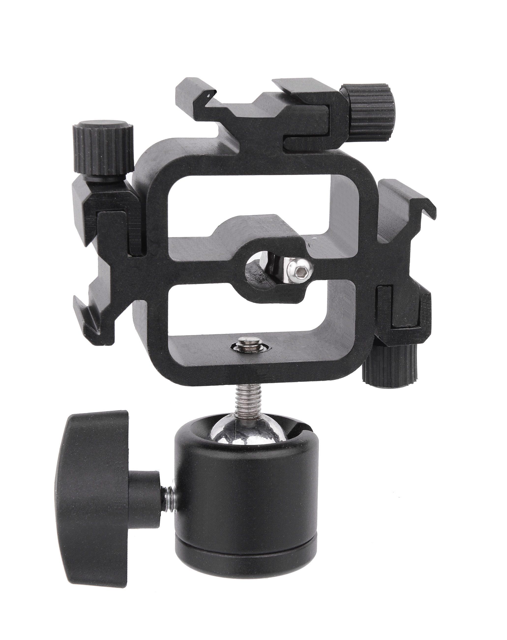 BRESSER Fotostudio »BRESSER JM-38 Blitzhalter für 3 Kamerablitzlichter«
