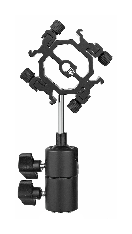 BRESSER Fotostudio »Blitzhalter mit Kugelgelenk für 4 Kamerablitze«