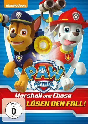 DVD »Paw Patrol - Marshall und Chase lösen den Fall!«