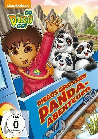 DVD »Go, Diego! Go! - Diegos großes Panda Abenteuer«