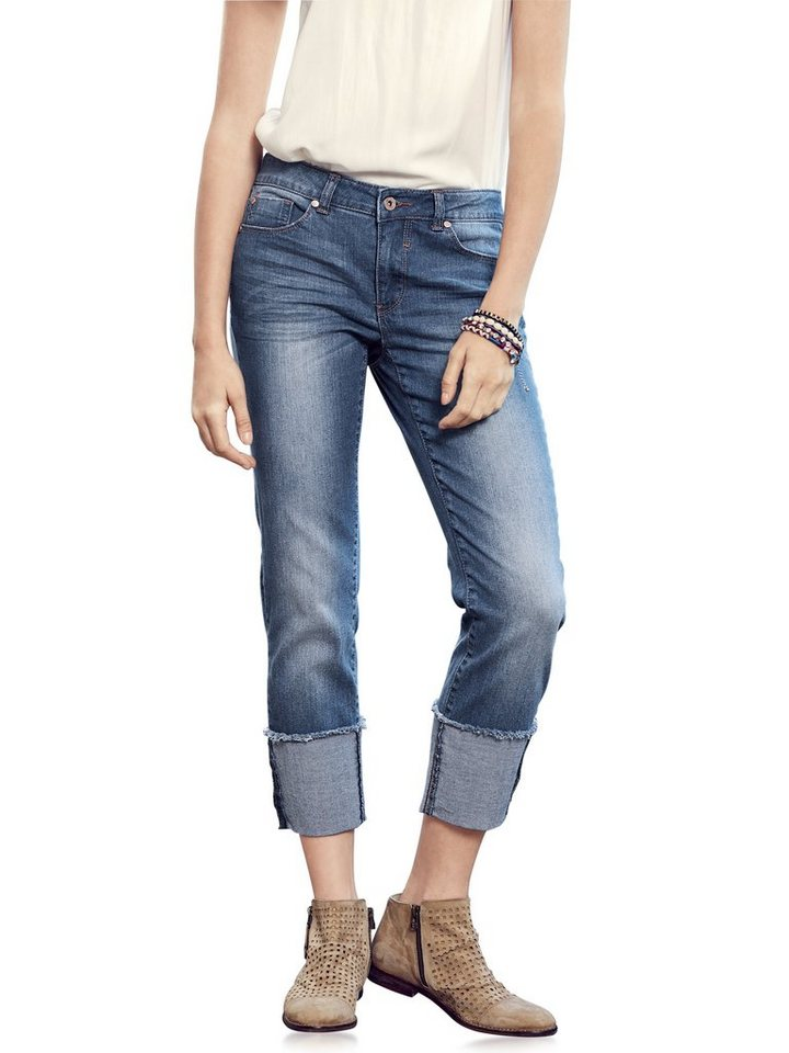 7/8-Jeans in bleached