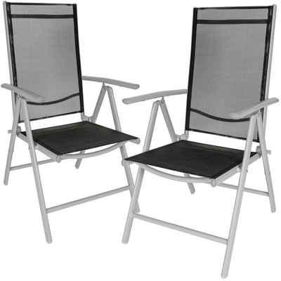 tectake Gartenstuhl »2 Aluminium Gartenstühle«