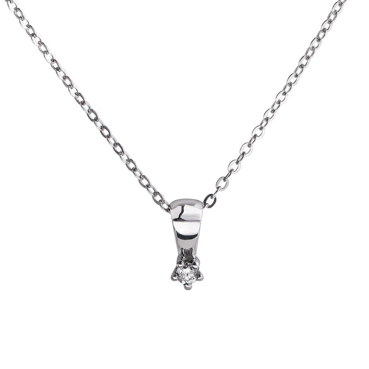 CELESTA Collier »925/- Silber 1x Diamant«