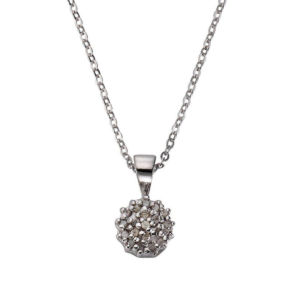 CELESTA Collier »925/- Silber 20x Diamant« in ohne
