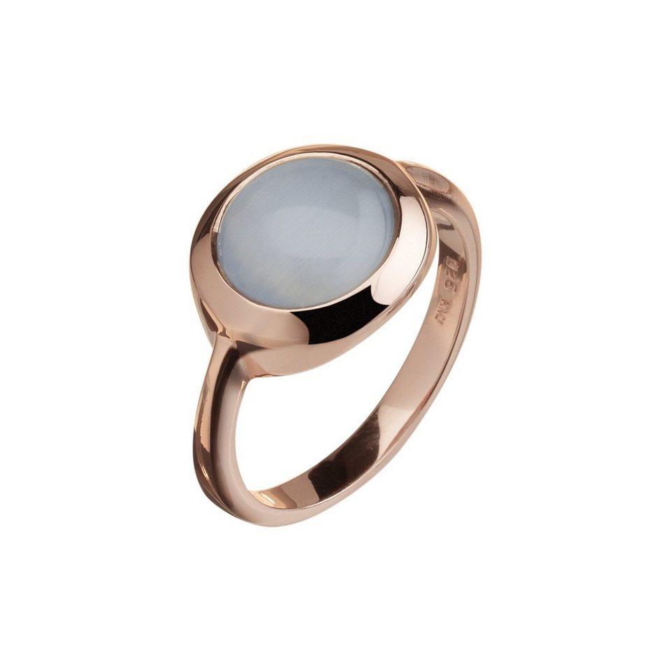 CELESTA Ring »925/- Sterling Silber« in rot