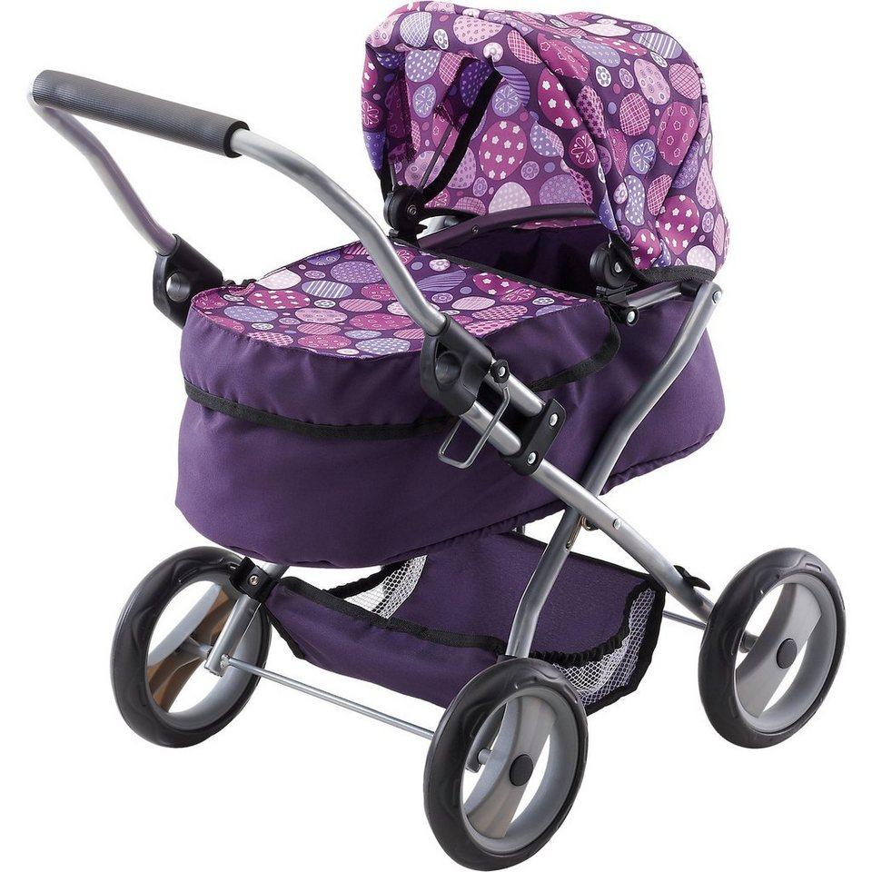 BAYER Puppenwagen Trendy lila
