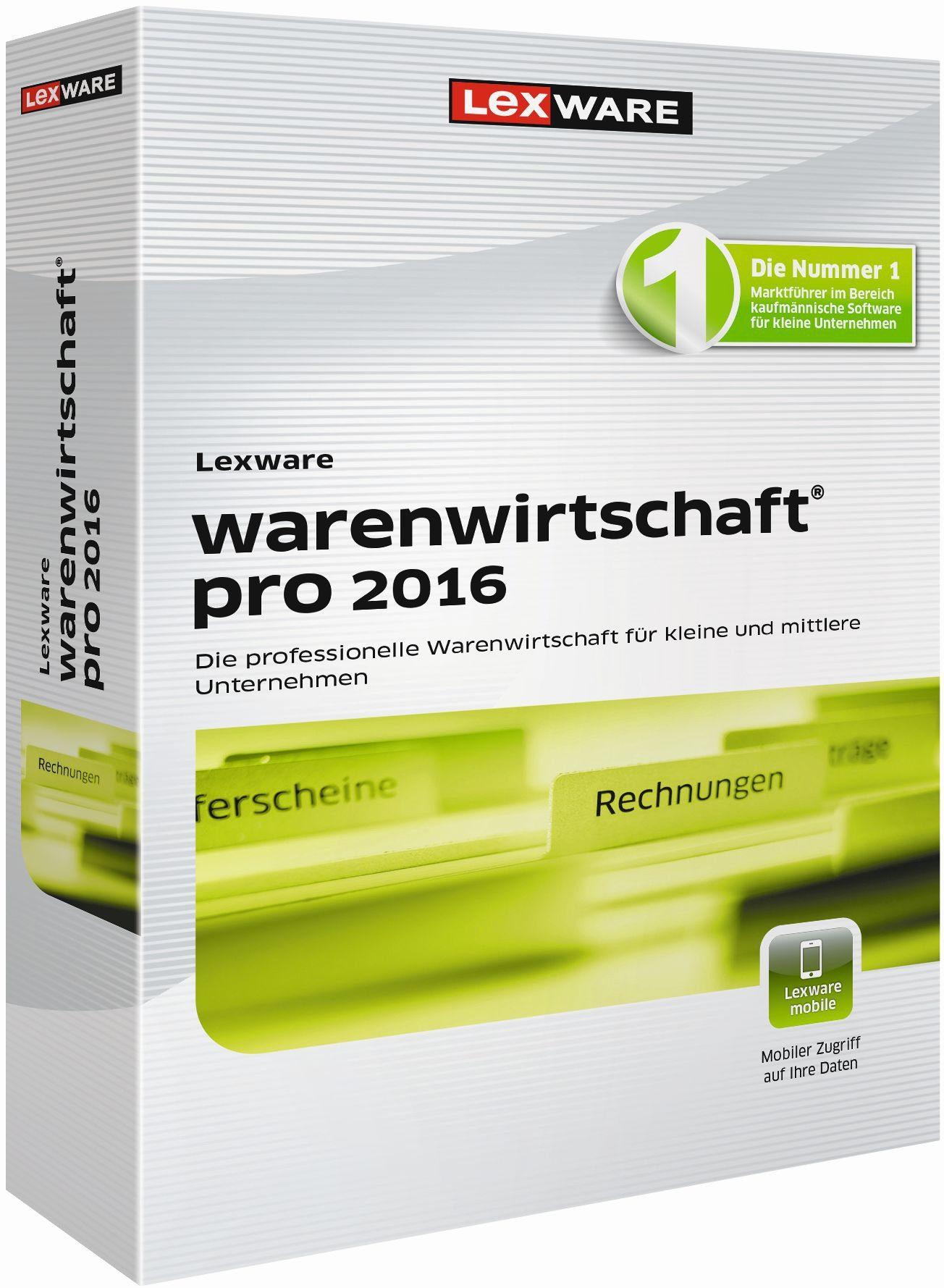 Lexware Warenwirtschaft »warenwirtschaft pro 2016«