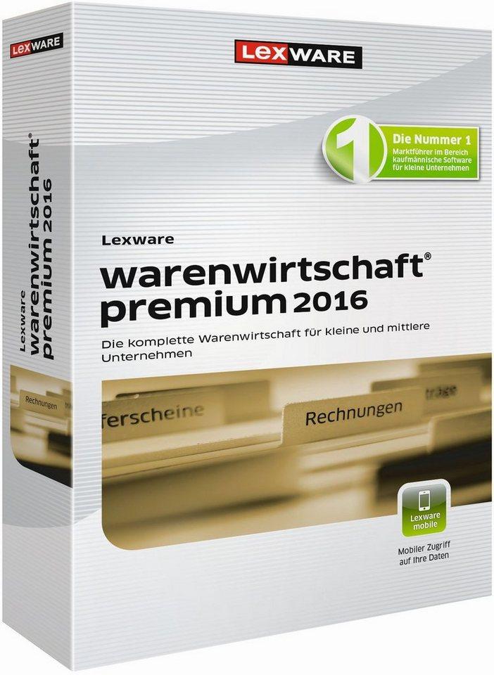 Lexware Warenwirtschaft »warenwirtschaft premium 2016«