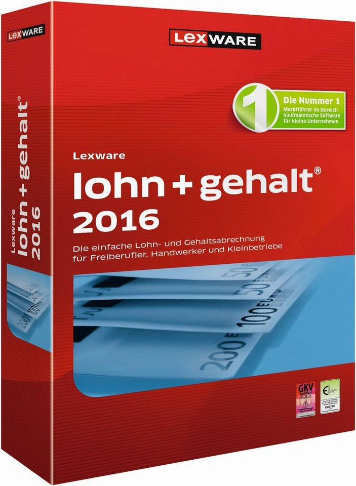 Lexware Lohn & Gehalt »lohn+gehalt 2016«
