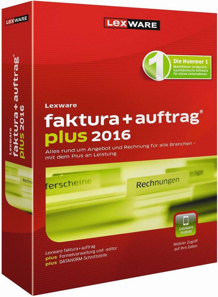 Lexware Kaufmännische Einzellösung »faktura+auftrag plus 2016«