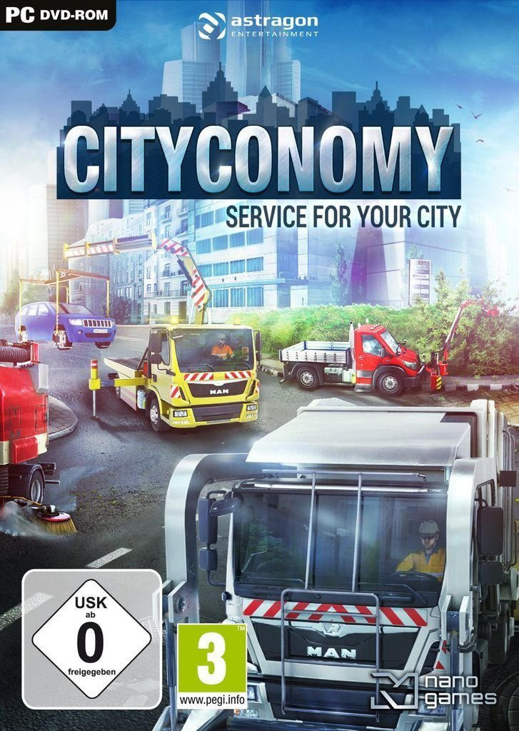 Astragon PC - Spiel »Cityconomy: Service for your City«