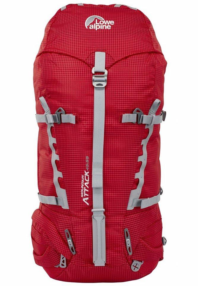 Lowe Alpine Sport- und Freizeittasche »Mountain Attack 45:55 Backpack« in rot